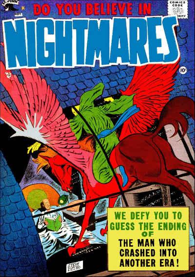 Do You Believe in Nightmares Cover