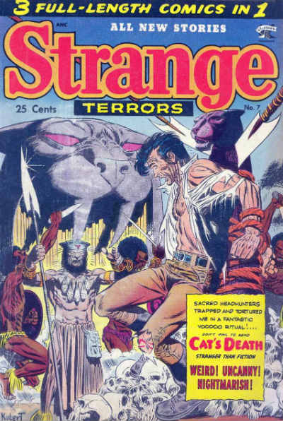Strange Terrors Cover