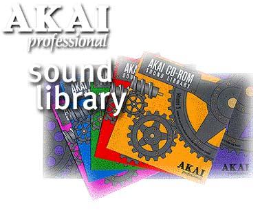 Akai S-Series CD-ROM Sound Library