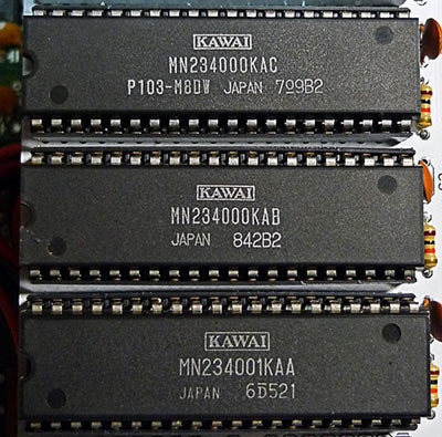 Kawai R50 and R100 series ROMs